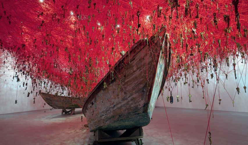 The key in the hand, Chiharu Shiota
